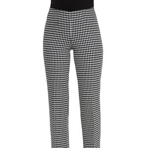 The Limited gingham cropped dress pants size 4